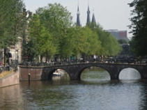 Amsterdam Canal Bridge - Science school trips to Amsterdam