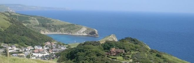 Lulworth Cove Landscape