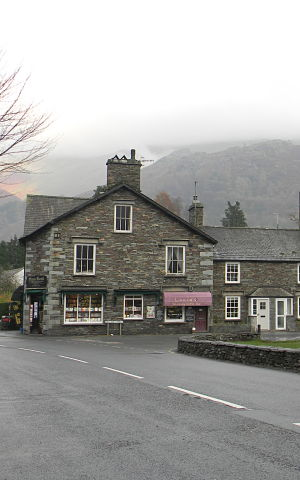 Grasmere Buildings from local stone and slate