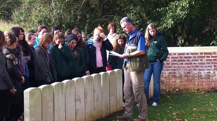 Group at Devonshire Trench