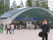Canary-Wharf-Station-Geography-school-trips-London