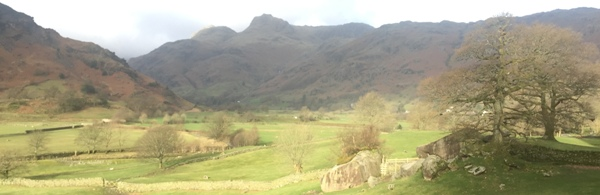 Great Langdale Valley View 600x195