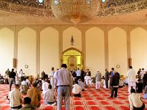 London Central Mosque Interior
