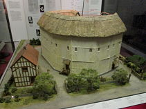 Model of the Rose Theatre