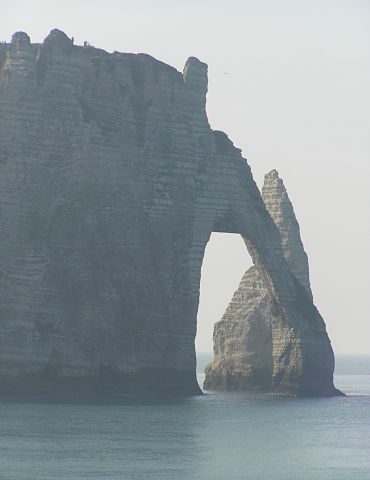 Etretat Arch and Stack 370x480
