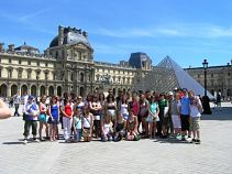 Group at Louvre