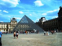 Pei Pyramid - Paris Science school trips