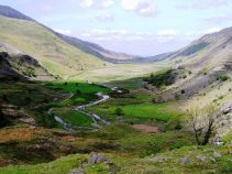 Nant Ffrancon U Shaped Valley