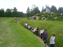 Students at Newfoundland Park