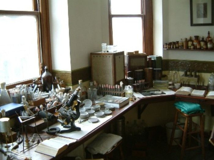 Laboratory of Alexander Fleming