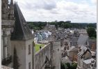 View of Amboise from the Chateau