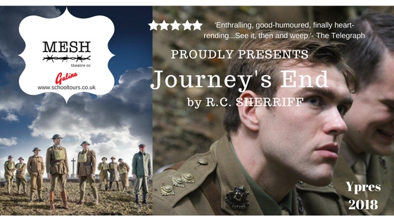 mesh theatre journeys end  tickets available from galina study tours