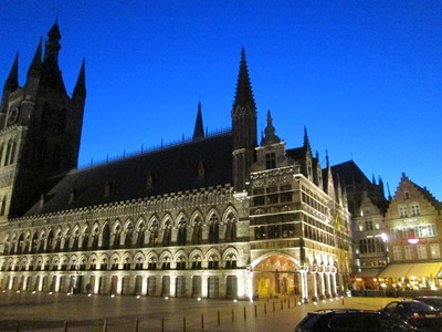 ypres cloth hall in flanders fields museum