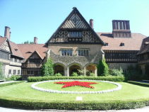 Cecilienhof Palace Courtyard