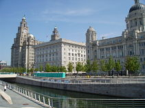 Pier Head Liver, Cunard & Custom House Buildings