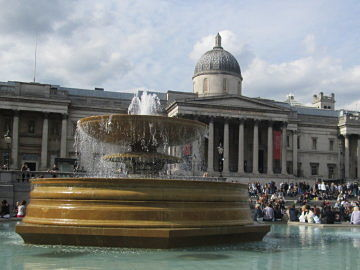 National Gallery and Fountain