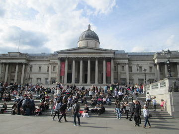 National Gallery and Steps
