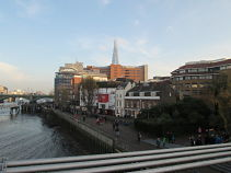 Globe Theatre and the Shard