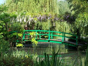 Giverny Japanese Bridge Ariane Cauderlier opt