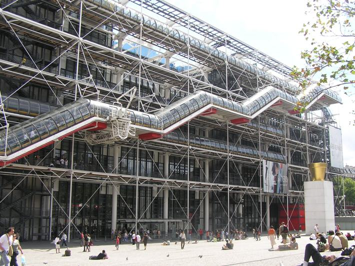 Paris Pompidou Centre 710x533