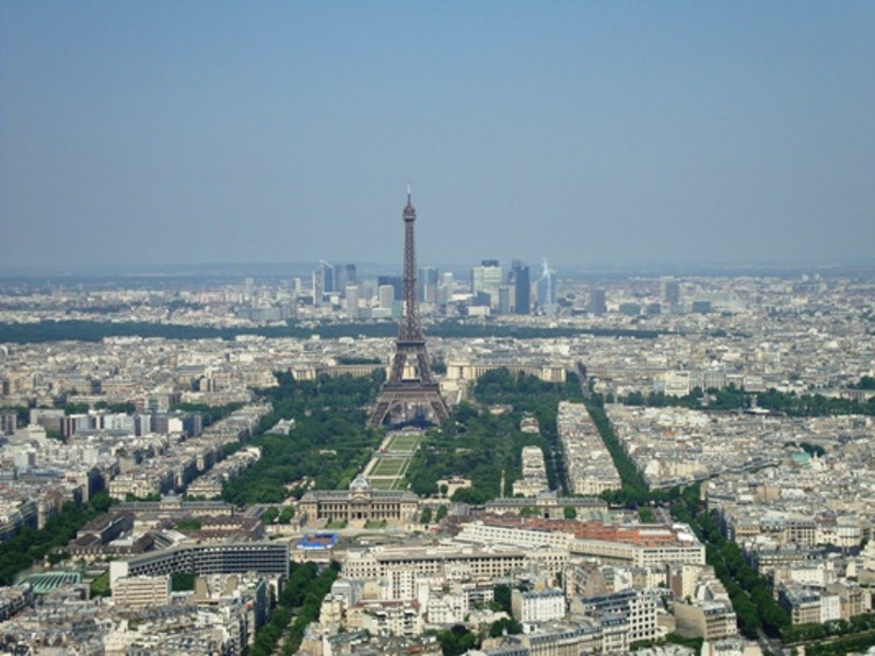 Eiffel Tower from Montparnasse2